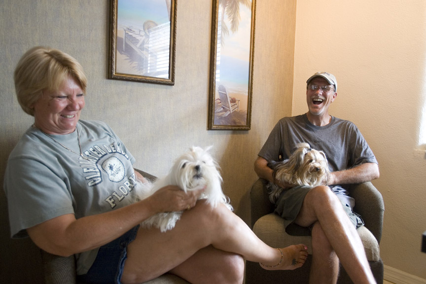 Camelot Beach Suites Pet Friendly Guests with Two Small Dogs